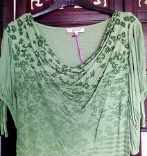 Marks & Spencer Per Una Women's Green Blouse Size14