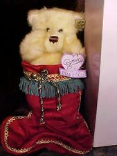"PRECIOUS Annette Funicello "" HIDDEN IN MY STOCKING"" CHRISTMAS BEAR In Box!"