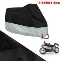 Motorcycle Motorbike Rain Dust Cover Water Dust Protection Large UK