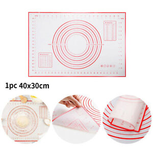 Silikon Teigmatte Backmatte Teigunterlage Backunterlage Ausrollmatte Rollmatte