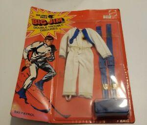 Ski Patrol Double Trouble 9335 9336 MOSC NEW Big Jim 1975 Mattel Vintage