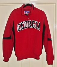 Georgia Bulldogs Jacket Men's Size Medium by Majestic EUC