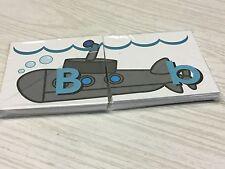 Submarine - Uppercase Lowercase Match - Teaching Supplies Reading
