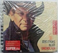 Matthias Reim - Unendlich handsignierte Deluxe + 5 Track + Kalender 7 Super Illu