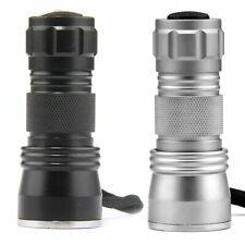 Portable UV Ultra Violet 21 LED Flashlight Blacklight Aluminum Torch Light Lamp
