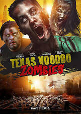 Texas Voodoo Zombies (DVD, 2016) USED VERY GOOD