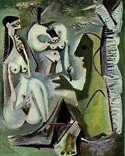 """Vintage 1965 Picasso Book Plate Print """"Les Dejeuners, Plate 152"""""""