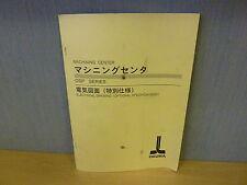 Okuma Machining Center Osp Series Electrical Drawing Optional Specs (11918)