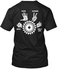 Carpenter Rock, Paper, Scissors - Paper Rock Table Saw Hanes Tagless Tee T-Shirt