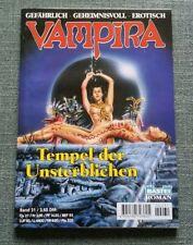 VAMPIRA - Bastei Taschenheft Band 31, Tempel der Unsterblichen, ungelesen, neu