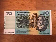 $10 Australia Radar Note Unc