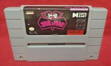 Joe and Mac  *Authentic* Super Nintendo SNES Game Works / Tested Data East