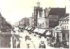 London - Kilburn High Road c.1889-97 nr Belsize Road - Library postcard c.1980s