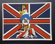 "Sticker Decal Cartoon Gloss-Optics "" Rock Me, Yellow Baby """