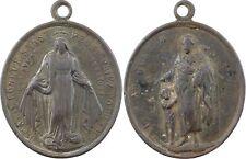 XIXe s., médaille religieuse Marie et Joseph - 43