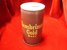 Gambrinus Gold Beer 12 oz. Pull Tab / Pittsburgh, Pa. - Pittsburgh Brewing Co.