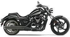 Yamaha XVS 1300 Custom (Stryker) Negro Cobra Slip-On de escape Silenciador: 2270B
