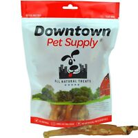 """All Natural Beef Tendons Made in USA Healthy Dog Treats Free Range Beef 8"""" - 10"""""""
