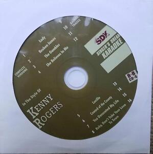 KENNY ROGERS KARAOKE COUNTRY CDGM CD+G MULTIPLEX 8+8 - SDK9025 CD MUSIC