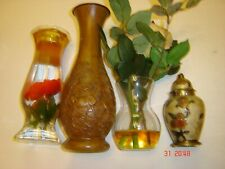 JOB LOT VINTAGE HOME ORNAMENTS X13 PLUS 6 CANDLES FOR LAMPS