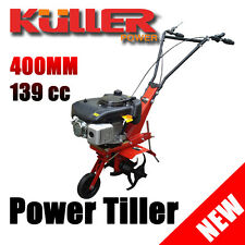 New KULLER Petrol 4-stroke 139cc Cultivator Tiller Rotary Hoe Commercial Garden