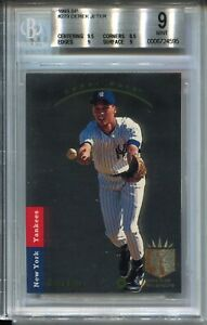 1993 SP Foil Baseball #279 Derek Jeter Rookie Card RC Graded BGS MINT 9 '93