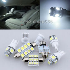 Xenon White LED Interior Lights 8PCS Package for Chrysler PT Cruiser 2001 2010