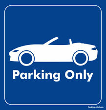 Parking Only-Mazda MX 5 ND-Autocollant