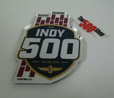 2019 Indianapolis 500 Acrylic Auto Emblem Badge Decal Peel & Stick Foam Adhesive