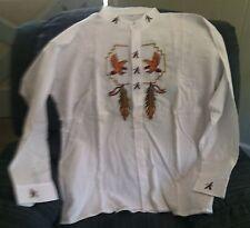 Shirt, Unique Ecuadorian Style Size XL (Shirt #8)