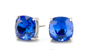 Origami Owl Swarvorski Majestic Blue Clara Stud Earrings