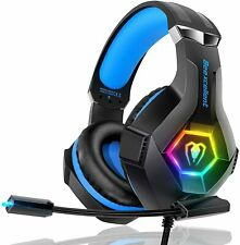 Gaming Headset Headphone with Microphone PS4  Sound Noise Canceling
