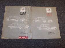 1989 Buick Electra Park Avenue Sedan Shop Service Repair Manual Book Set 3.8L V6