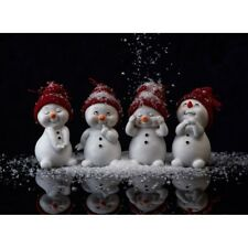 New ListingFull 5D Drill Diamond Painting Embroidery Snowman Kits Art Embroidery Leisure