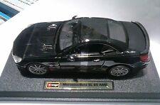 BURAGO 1:24 AUTO DIE CAST MONTATA MERCEDES BENZ SL 65 AMG NERO  ART 18-21066