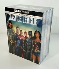 JUSTICE LEAGUE 2D/3D/ 4K Blu-ray STEELBOOK 1-CLICK BOXSET [MANTA LAB] <#032/400>