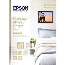 Epson Premium glossy papel fotografica lucida A4 15 hojas