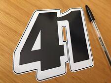 Noriyuki Haga #41 Race Number (Medium)