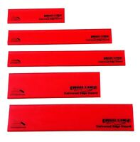 5 pc Red Knife Edge Guard Set Knife guards knife sleeve knife protector sheath