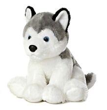 """Aurora Medium Stuffed Animal 14"""" Husky Item # 50269 NWT"""