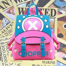 Anime ONE PIECE Tony Chopper Backpack Packsack Knapsack School Travel Bag Hot