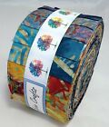 Quality Genuine Bali Batik Jelly Roll 40 pc for craft & quilting FREE AU POST