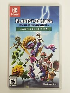 Plants Vs Zombies Battle for Neighborville Complete Edition (Nintendo Switch)