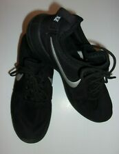 Men's NIKE ID Black & Gray Running Shoes SIZE 7.5M