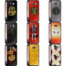 OFFICIAL COBRA KAI GRAPHICS BLACK HYBRID GLASS BACK CASE FOR SAMSUNG PHONES