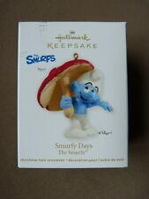 Hallmark Keepsake Ornament - Smurfy Days The Smurfs 2012 Nib