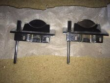 2 NEW OLD STOCK COIN ACCEPTOR TOPS!CHROME! NICE!