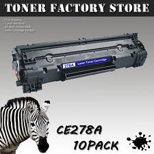 10PK CE278A 78A Black Toner Cartridge For HP P1560 P1566 P1606 P1606N P1606DN