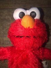 "Hasbro Sesame Street SOFT FUZZY ELMO 9"" Plush STUFFED ANIMAL Toy 2013"