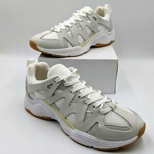 Zara Women's Athletic Style Contrast Shoes White 5411-001 Size US 9 EU 40